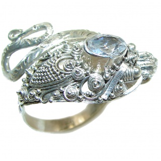 Thai Dragon . 925 Sterling Silver Ring s. 9 1/4