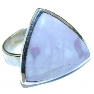 Perfect Tiffany Jasper .925 Sterling Silver handmade Ring s. 8