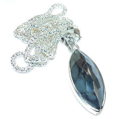 Hematite .925 Sterling Silver handcrafted necklace