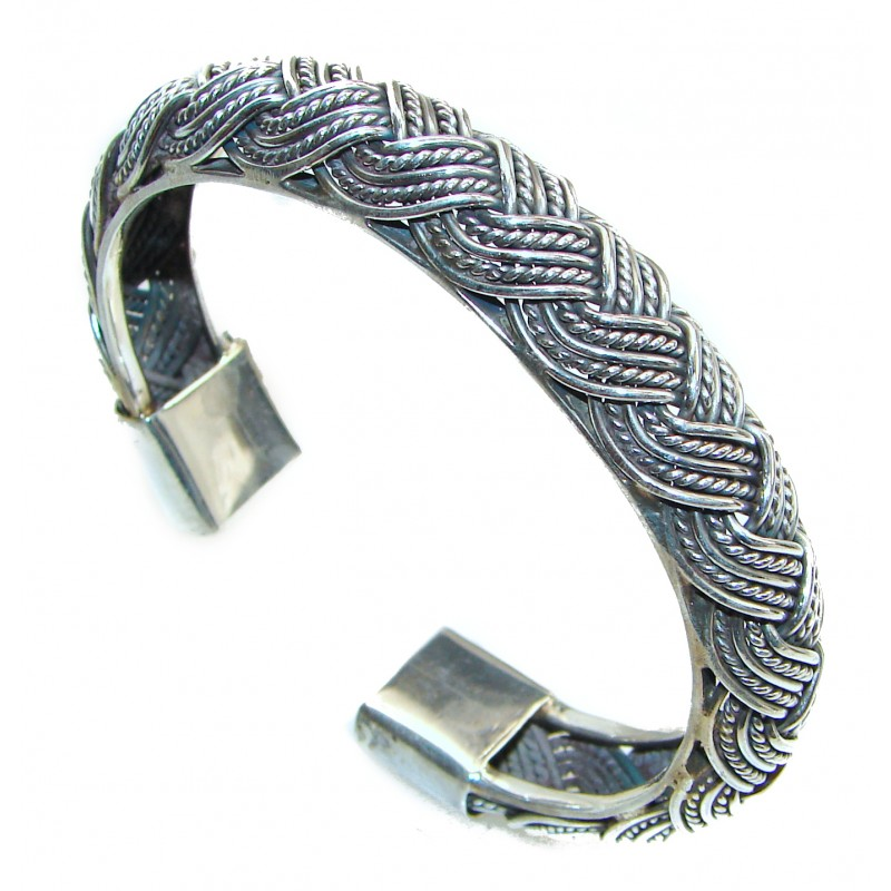 Bali made .925 Sterling Silver handcrafted Bracelet / Cuff