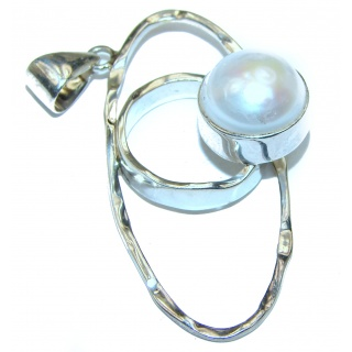 Classy Pearl .925 Sterling Silver Pendant