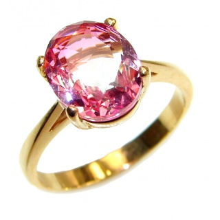 Genuine 10ct Ametrine .925 Sterling Silver handcrafted ring; s. 9