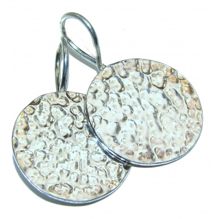 Amazing authentic .925 Sterling Silver handcrafted earrings