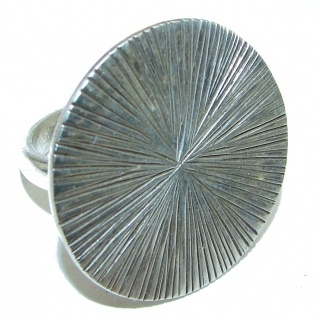 Great quality .925 Sterling Silver handcrafted Ring size 8