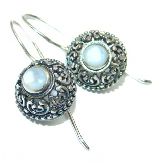 Real Beauty Blister Pearl .925 Sterling Silver handmade Earrings