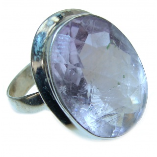 Perfection Amethyst .925 Sterling Silver Ring size 9