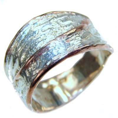 Bali Beauty .925 Sterling Silver Ring size 8