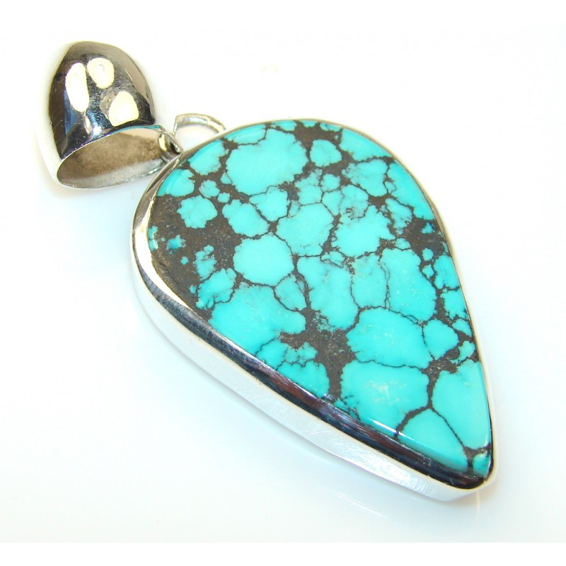 Mystries Turquoise Sterling Silver Pendant