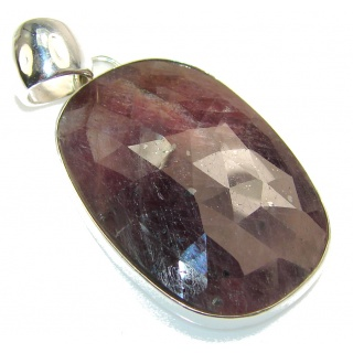 Fantastic Brown Calcite Sterling Silver Pendant