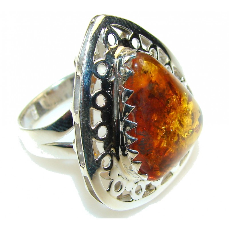 beautiful sterling silver ring s 9 9 20g