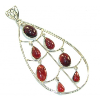 Fashion Design!! Tourmaline Sterling Silver Pendant