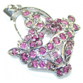 Perfect! Pink Topaz Sterling Silver pendant