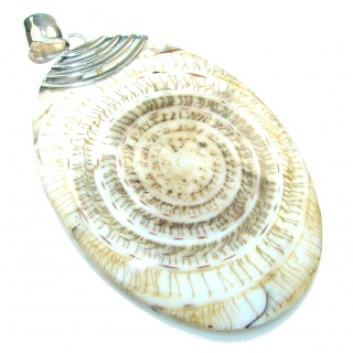 Secret!! Ocean Shell Sterling Silver Pendant