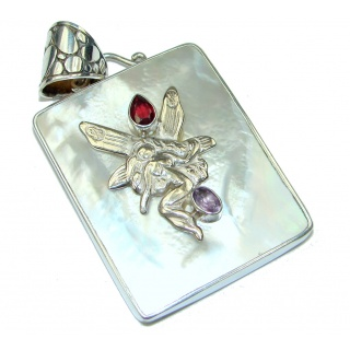 Silver Love! Blister Pearl Sterling Silver pendant