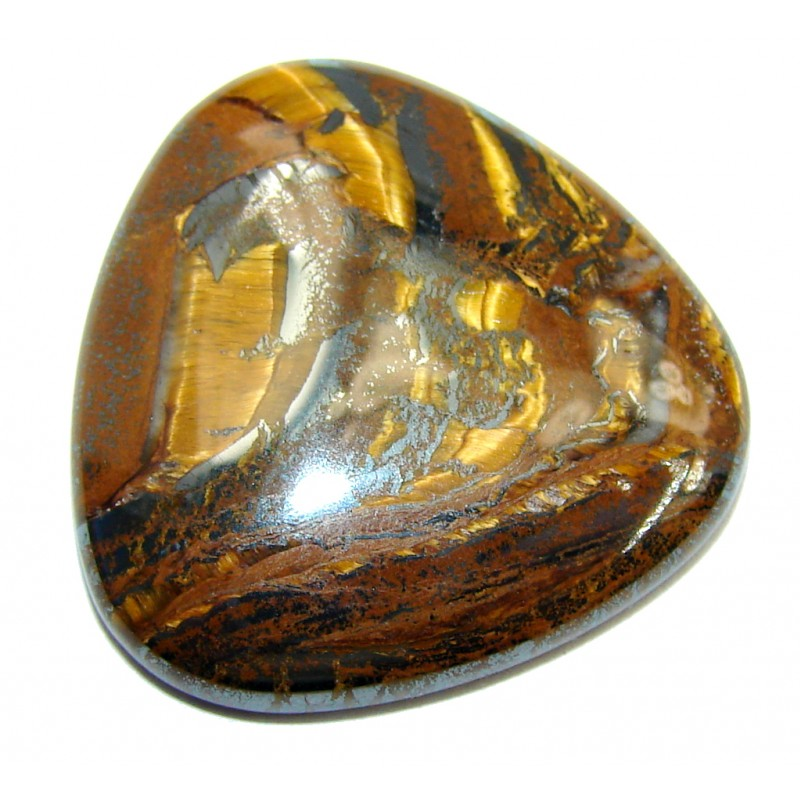 Amazing Golden Brown Tigers's Eye 26.5ct Stone