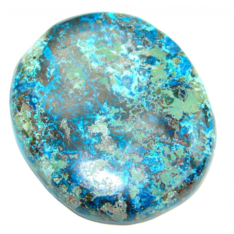 Perfect Copper vains Azurite 86.5ct Stone