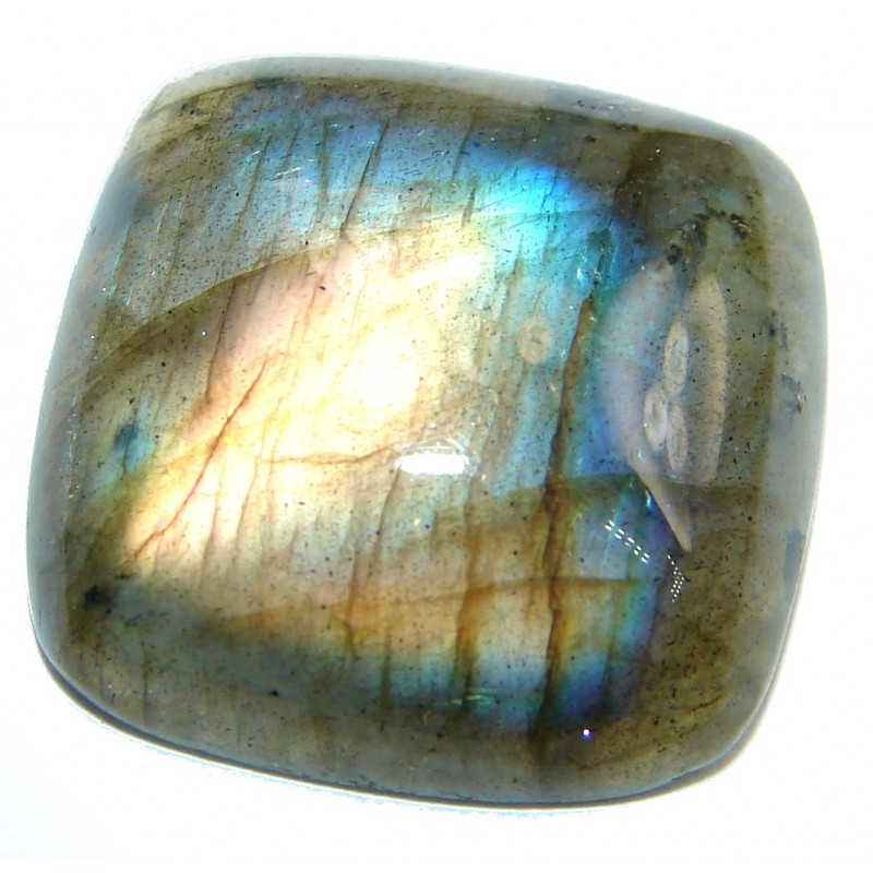 Natural AAA Fire Blue Labradorite 22.5 ct Stone