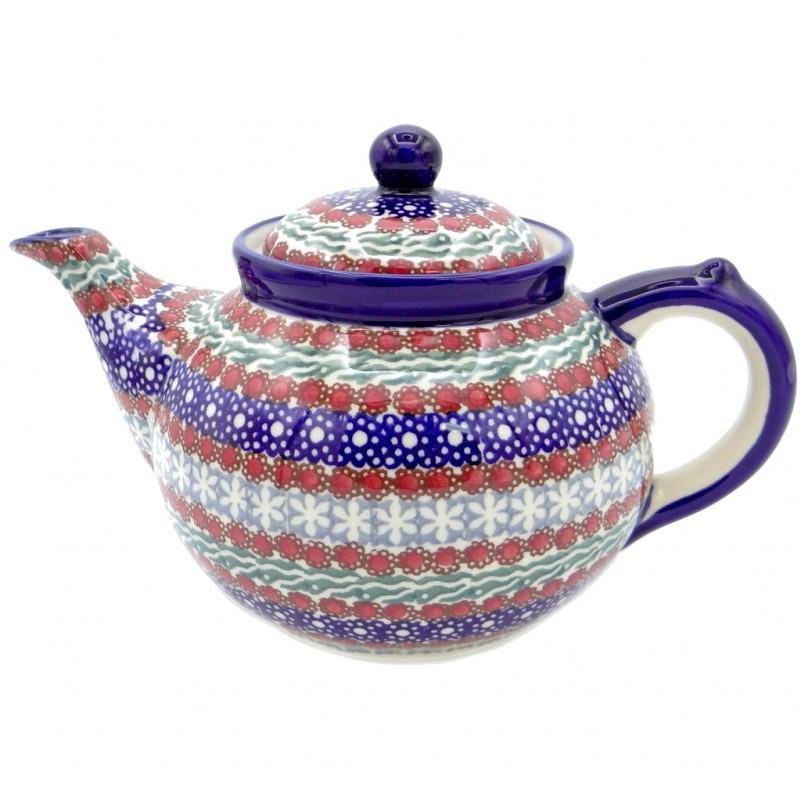 SilverrushStyle - Polish Pottery Large Teapot - Summer Collection