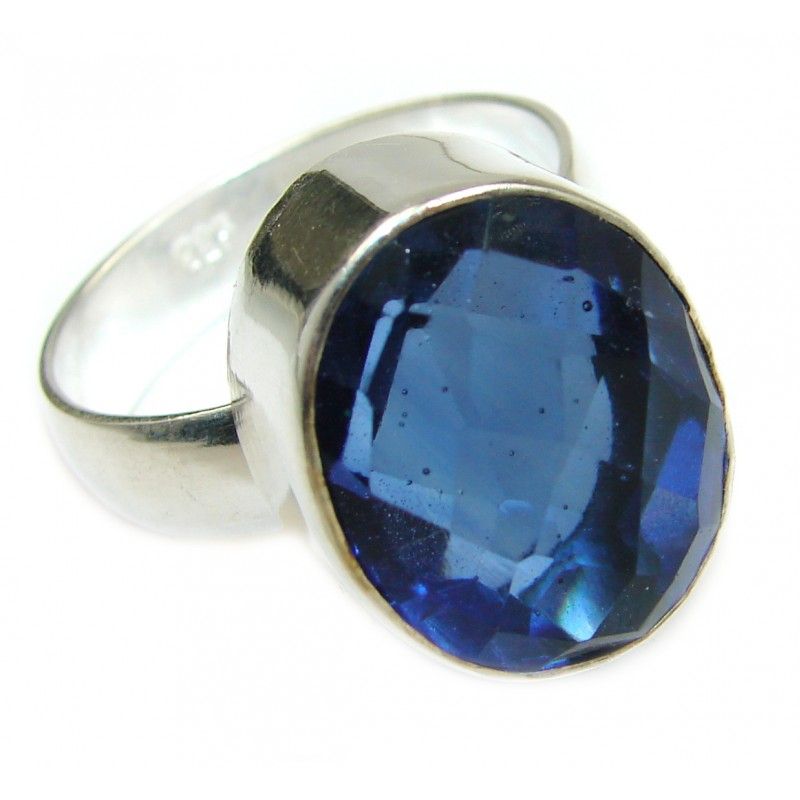 Best Quality Quartz .925 Sterling Silver handcrafted ring s. 12