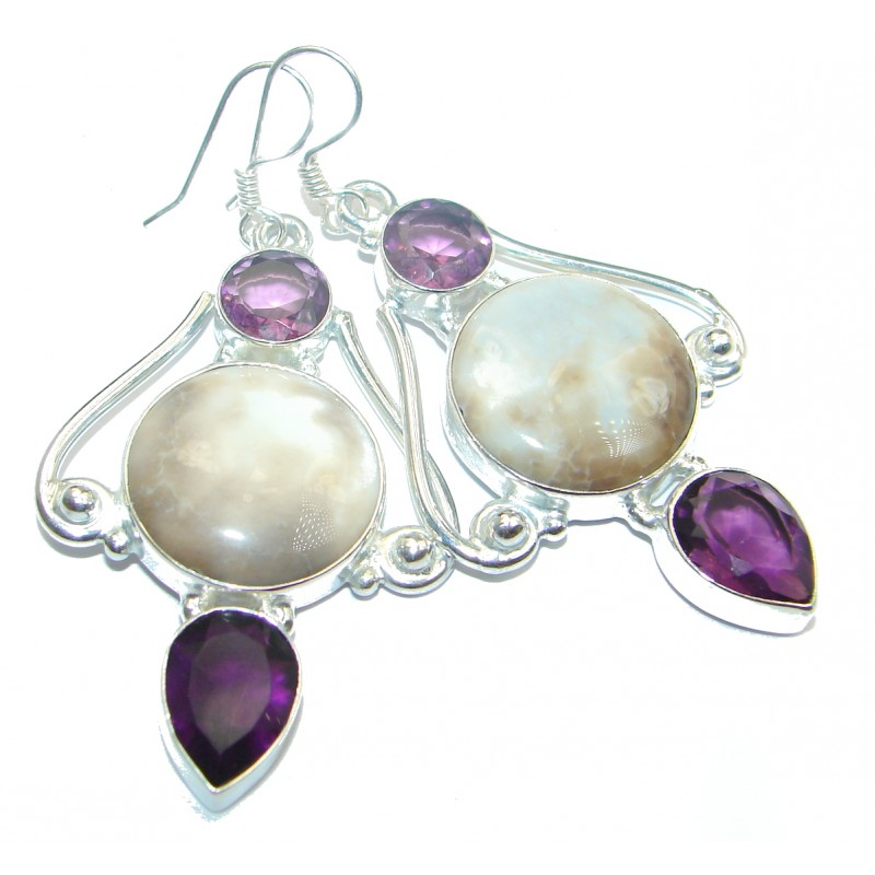 Simple Beauty Shell .925 Sterling Silver earrings